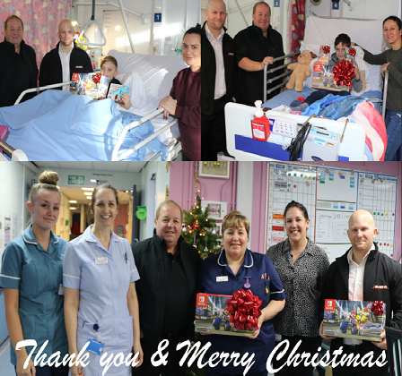 Visit to the Royal Orthopaedic Children's Services Ward